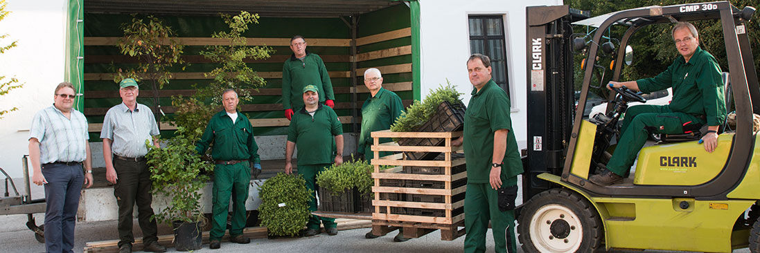 Baumschule Balzer-Sellmann - unser Team in Kirchhundem